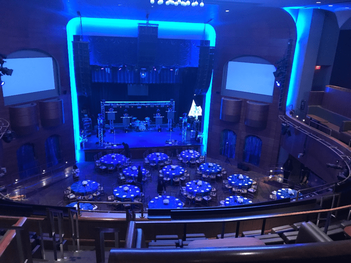 Getting ready for an excellent night